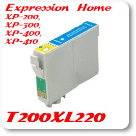 T200XL220 Cyan Epson Compatible Ink Cartridge