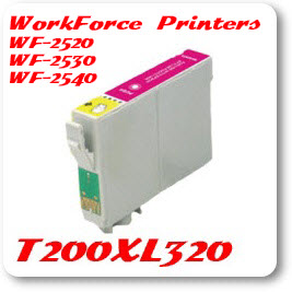 T200XL320 Magenta WorkForce WF Compatible Pigment Ink Cartridge